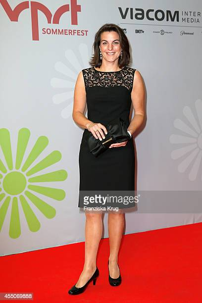 Isabell Koerner attends the VPRT Hosts Summer Party at Cafe Moskau on September 09 2014 in Berlin Germany