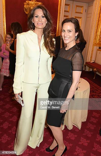 Isabell Kristensen and Dalit Nuttall attend a retrospective with Dame Judi Dench hosted by HRH Prince Edward Earl of Wessex on behalf of Films...