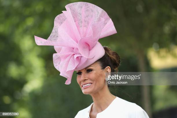 Isabell Kristensen attends Day 1 of Royal Ascot 2017 at Ascot Racecourse on June 20 2017 in Ascot England