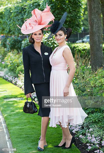 Isabell Kristensen attends day 1 of Royal Ascot at Ascot Racecourse on June 16 2015 in Ascot England