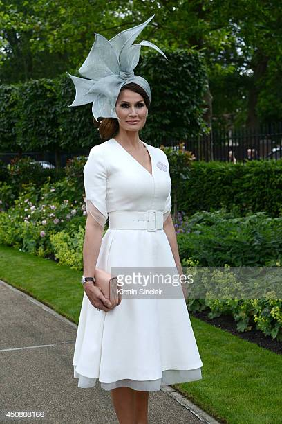 Isabell Kristensen attends day two of Royal Ascot at Ascot Racecourse on  June 18 2014 in 09700b1a0673