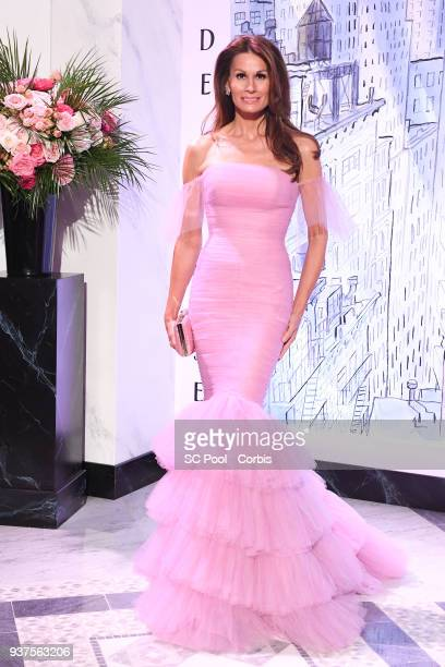 Isabell Kristensen attends the Rose Ball 2018 To Benefit The Princess Grace Foundation at Sporting MonteCarlo on March 24 2018 in MonteCarlo Monaco