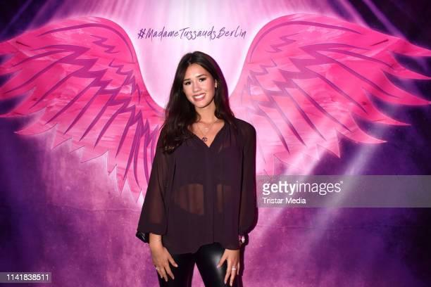 Isabella Ahrens attends the Natascha Ochsenknecht collection launch Natascha Loves Neon in cooperation with Zwillingsherz at Madame Tussauds on May 6...