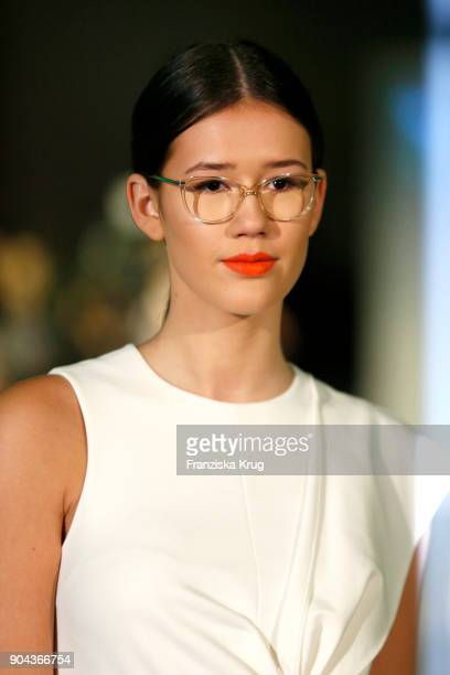 Isabella Ahrens during the Rodenstock Eyewear Show on January 12 2018 in Munich Germany