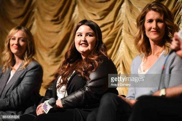 Isabella Amara attends the Film Independent at LACMA Screening and QA of 'Wilson' at Bing Theatre At LACMA on March 16 2017 in Los Angeles California