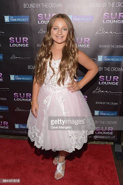 Isabella Barrett attends Teen Project LA's 2016 Teen Dream at Sur Restaurant on July 28 2016 in Los Angeles California