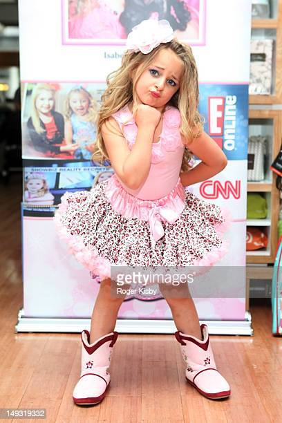 Isabella Barrett attends Tiny Tots Mini Mogul Fashion Event at Babestas on July 26 2012 in New York City