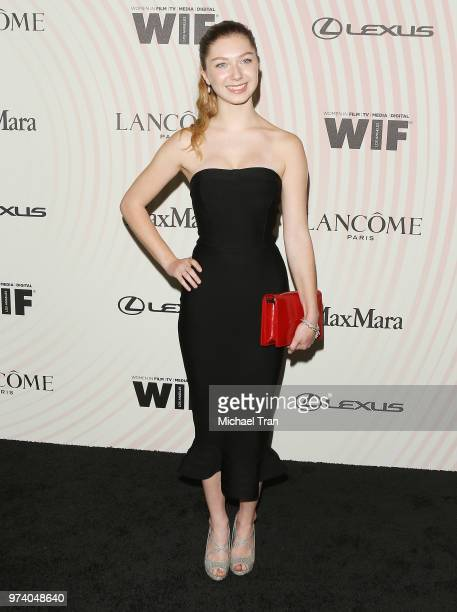 Isabella BlakeThomas attends the Women In Film 2018 Crystal Lucy Awards held at The Beverly Hilton Hotel on June 13 2018 in Beverly Hills California