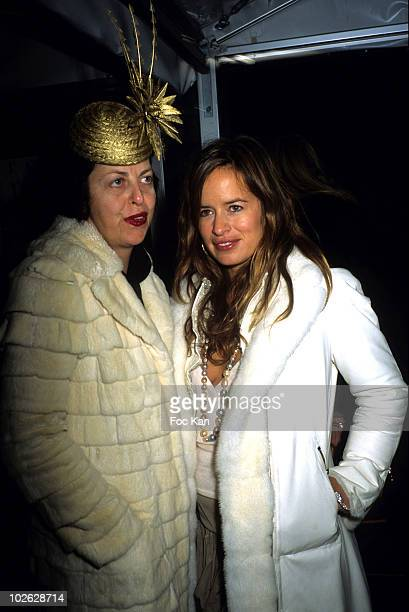 Isabella Blow and Jade Jagger