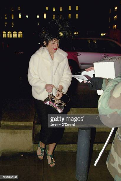 Isabella Blow arrives at the Turner Prize 2005 at Tate Britain on December 5 2005 in London England David Lammy hosts this years prestigious arts...