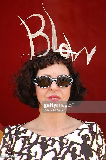 Isabella Blow attends ZAC POSEN at VAKKO Brunch Cruise at Savarona Yacht on September 30 2006 in Istanbul Turkey