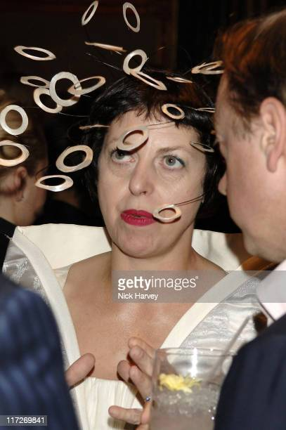 Isabella Blow during Tatler's Little Black Book Launch Party Inside November 9 2005 at Baglioni Hotel in London Great Britain