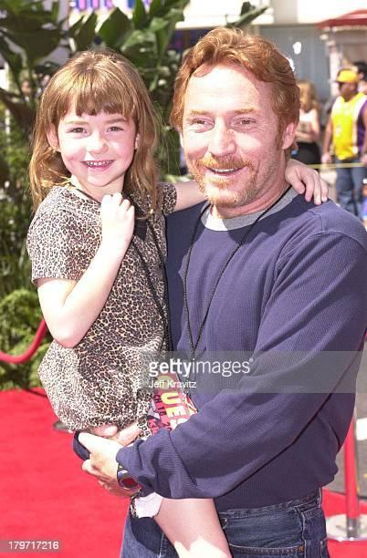 Isabella Bonaduce and Danny Bonaduce during Spy Kids Los Angeles Premiere in LosAngeles United States
