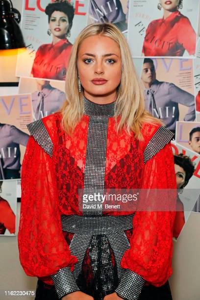 Isabella Boreman attends the #MOVINGLOVE screening hosted by Derek Blasberg Katie Grand at Screen on the Green on July 15 2019 in London England