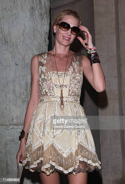 Isabella Borromeo arrives at the Julian Schnabel Opening Exhibition on May 31 2011 in Venice Italy