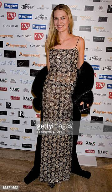 Isabella Borromeo attends Children For Peace charity event at the Spazio Novecento on December 1 2008 in Rome Italy