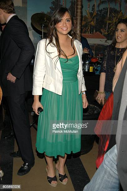 Isabella Brewster attends JORDANA BREWSTER's Blame it on Rio Birthday Party hosted by CABANA CACHACA at Bungalow 8 on April 20 2006 in New York City