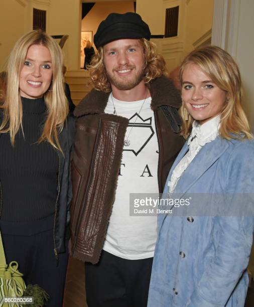 Isabella Calthorpe Sam Branson and Cressida Bonas attend the Warrior Games Exhibition VIP preview party sponsored by Chantecaille and hosted by HRH...