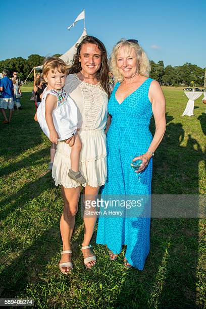 Isabella Channing Aila Rosanna and Molly Channing attend the 10th Annual Get Wild Summer Benefit on August 13 2016 in Bridgehampton New York