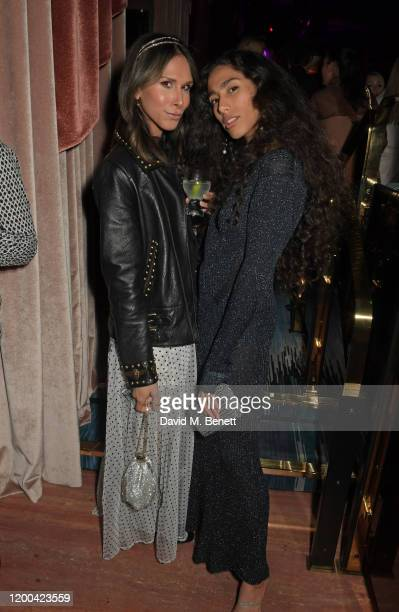 Isabella Charlotta Poppius and Ciinderella Balthazar attend the NME Awards after party in association with Copper Dog at The Standard on February 12...