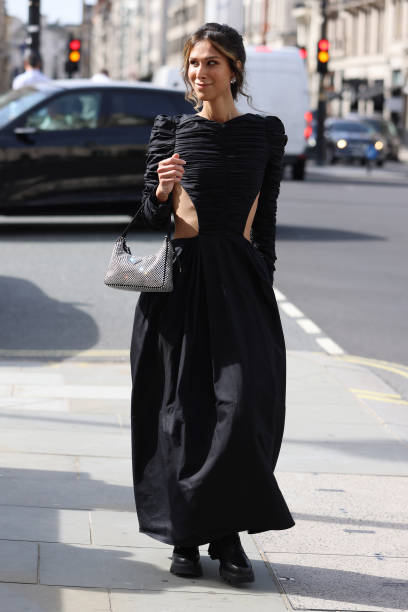 GBR: Street Style - LFW September 2021