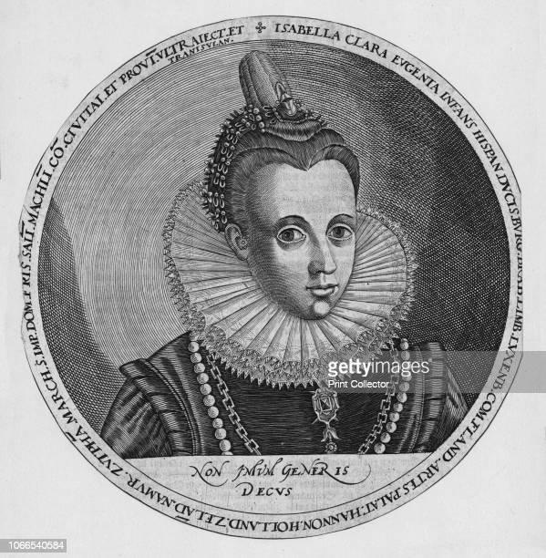 Isabella Clara Eugenia. Portrait of Isabella Clara Eugenia , archduchess of Austria and infanta of Spain. Artist Unknown.