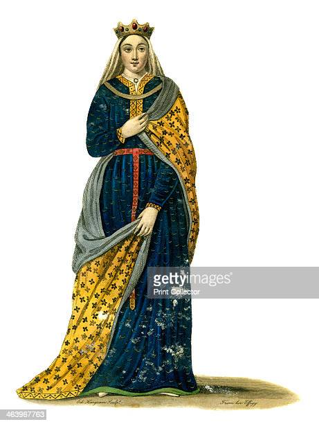 Isabella Countess of Angouleme and queen consort of England Frenchborn Isabella of Angouleme married King John of England in 1200