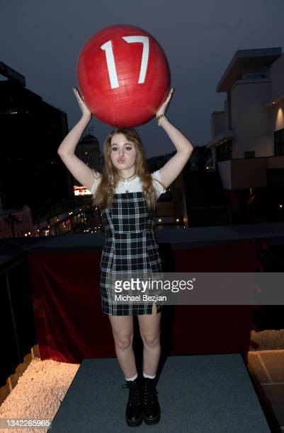 Isabella Crovetti arrives at 17th Annual Oscar-Qualifying HollyShorts Film Festival Opening Night at Japan House Los Angeles on September 23, 2021 in...