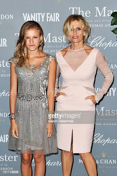 Isabella Ferrari and her daughter Nina Ferrari attends The Master After Party during the 69th Venice International Film Festival on September 1 2012...