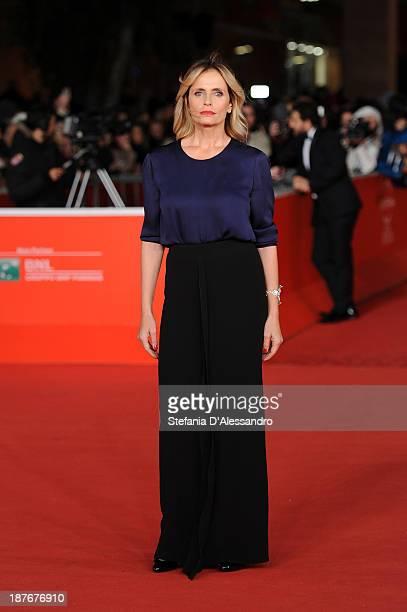 Isabella Ferrari attends 'Il Venditore Di Medicine' Premiere during The 8th Rome Film Festival on November 11 2013 in Rome Italy