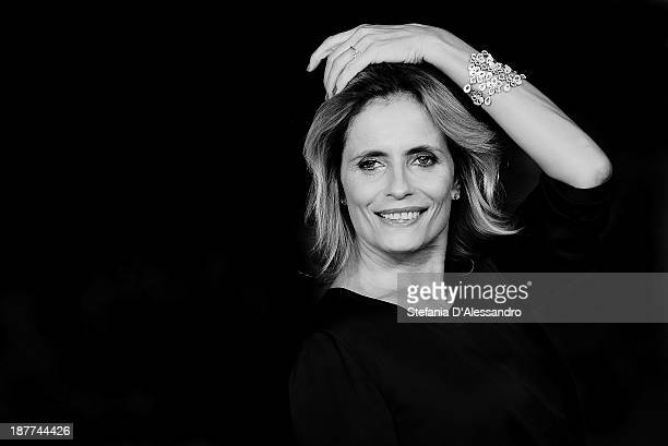 Isabella Ferrari attends 'Romeo and Juliet' Premiere during The 8th Rome Film Festival at Auditorium Parco Della Musica on November 11 2013 in Rome...