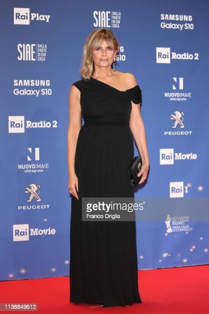 Isabella Ferrari attends the 64 David Di Donatello awards on March 27 2019 in Rome Italy