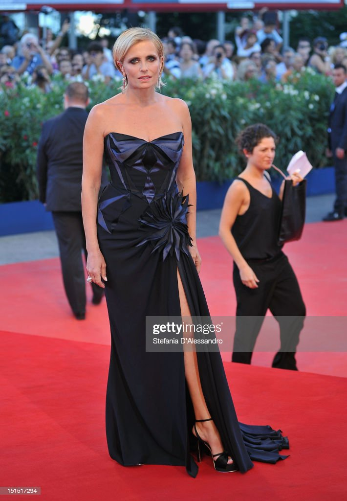 Isabella Ferrari attends the Award Ceremony during The 69th Venice Film Festival at the Palazzo del Cinema on September 8, 2012 in Venice, Italy.