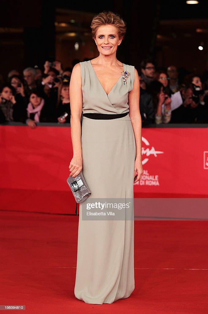Isabella Ferrari attends the 'E La Chiamano Estate' Premiere during the 7th Rome Film Festival at the Auditorium Parco Della Musica on November 14, 2012 in Rome, Italy.