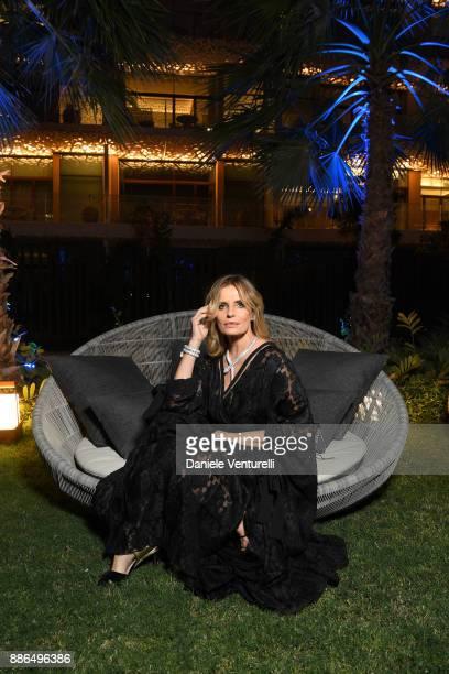 Isabella Ferrari attends the Grand Opening of Bulgari Dubai Resort on December 5, 2017 in Dubai, United Arab Emirates.