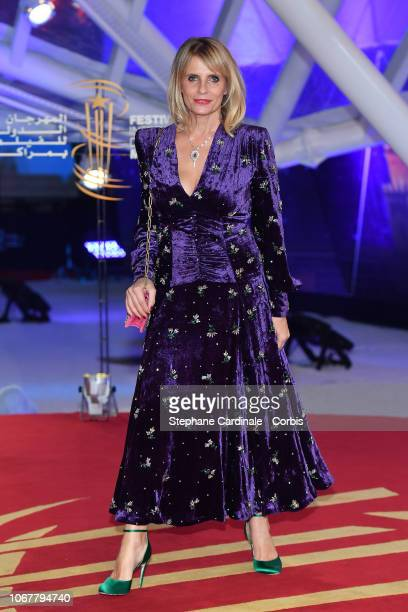 Isabella Ferrari attends the Tribute to Agnes Varda during the 17th Marrakech International Film Festival on November 2 2018 in Marrakech Morocco