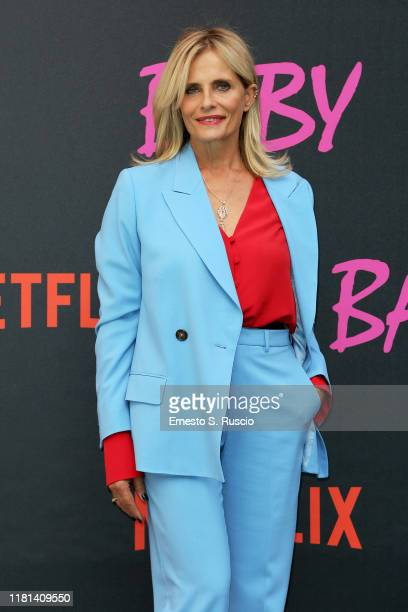 Isabella Ferrari attends the World Premiere of Netflix's Baby Season 2 at Palazzo Dama on October 16 2019 in Rome Italy