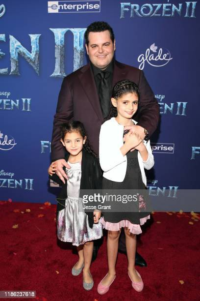 Isabella Gad Actor Josh Gad and Ava Gad attend the world premiere of Disney's Frozen 2 at Hollywood's Dolby Theatre on Thursday November 7 2019 in...