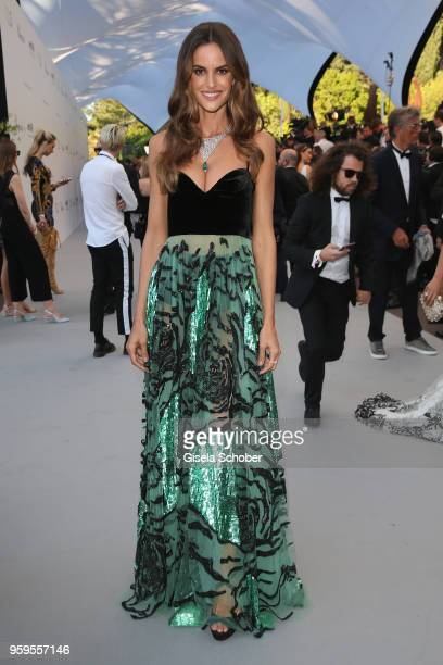 Isabella Golart arrives at the amfAR Gala Cannes 2018 at Hotel du CapEdenRoc on May 17 2018 in Cap d'Antibes France