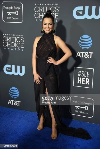 Isabella Gomez at The 24th Annual Critics' Choice Awards at Barker Hangar on January 13 2019 in Santa Monica California
