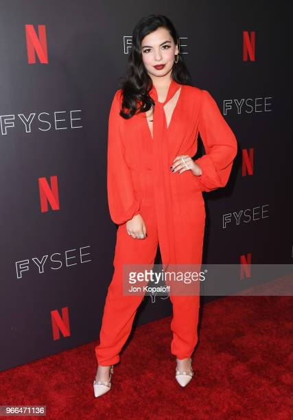 Isabella Gomez attends #NETFLIXFYSEE Event For One Day At A Time at Netflix FYSEE At Raleigh Studios on June 2 2018 in Los Angeles California