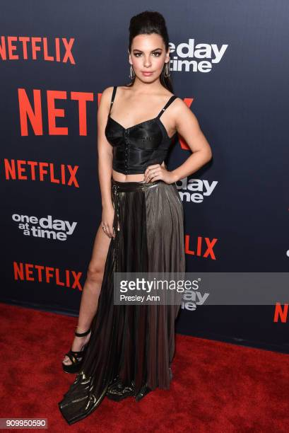 Isabella Gomez attends Netflix's One Day at a Time Season 2 Event at ArcLight Hollywood on January 24 2018 in Hollywood California