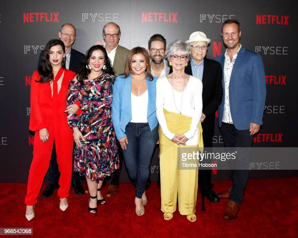 Isabella Gomez Mike Royce Gloria Calderon Kellett Stephen Tobolowsky Justina Machado Todd Grinnell Rita Moreno Norman Lear and Brent Miller attend...