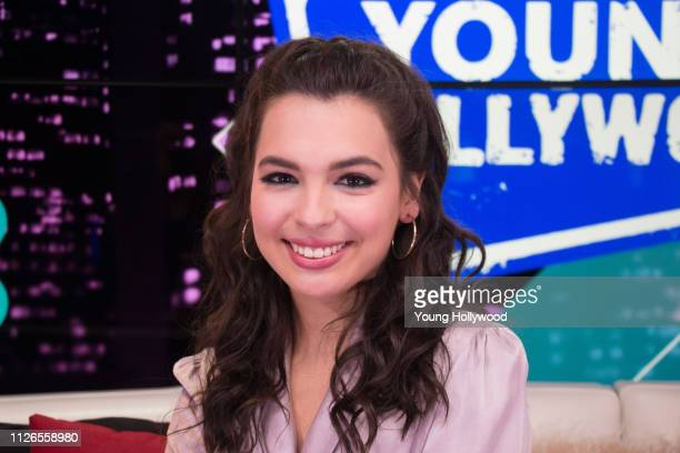 Isabella Gomez visits the Young Hollywood Studio on January 31 2019 in Los Angeles California
