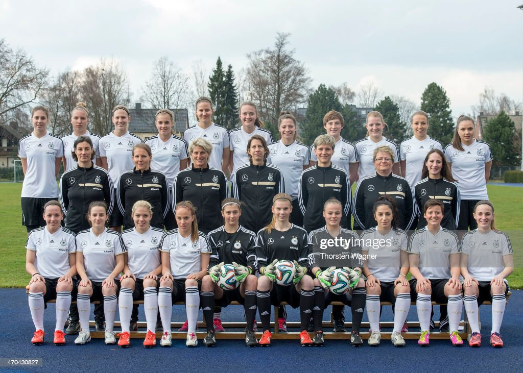 Germany Women U17 - Team Presentation : News Photo