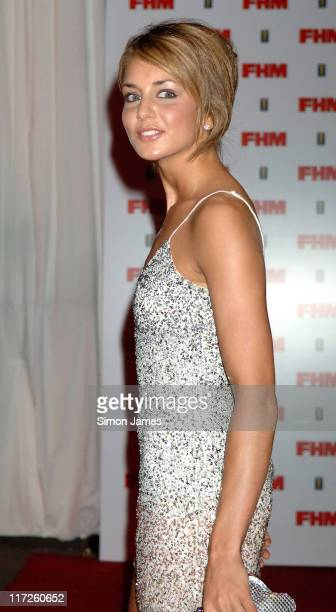 Isabella Hervey during The FHM 100 Sexiest Women In The World Party 2006 at Madame Tussauds in London Great Britain