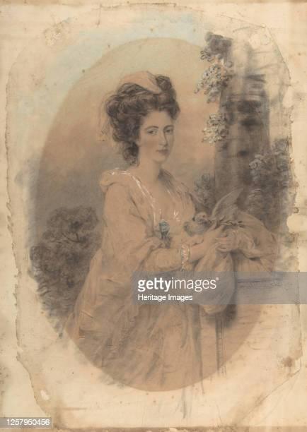 Isabella Hunter, Cousin of the Artist, 1781. Artist John Downman.