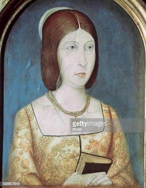 Isabella I of Castile Queen of Castile Portrait Painting