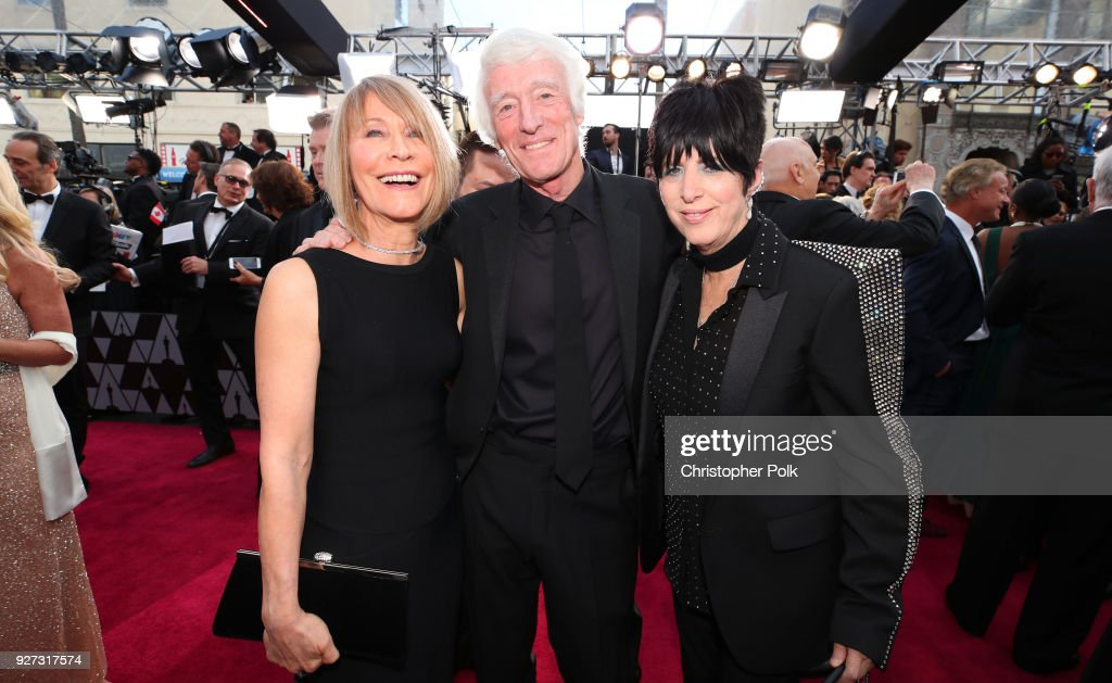 Isabella James Ellis Deakins, Roger Deakins, and Diane Warren attend the 90th Annual Academy Awards at Hollywood & Highland Center on March 4, 2018 in Hollywood, California.