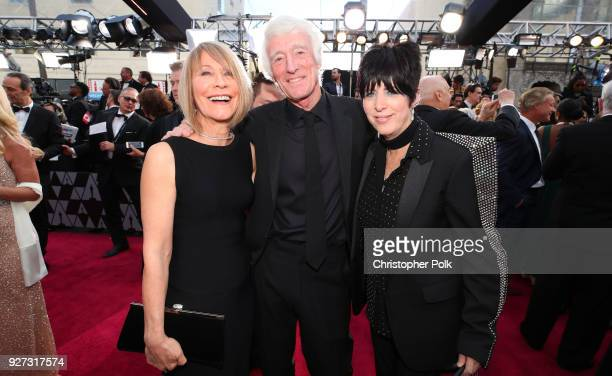 Isabella James Ellis Deakins Roger Deakins and Diane Warren attend the 90th Annual Academy Awards at Hollywood Highland Center on March 4 2018 in...